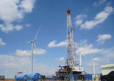 FT Supply Drilling Wind Project