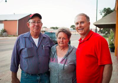 Garland  & Sue Pillars in Beaver Oklahoma