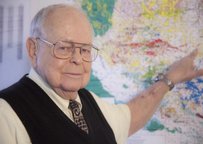 Harry Trueblood Age 89 in pursuit of oil